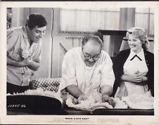 Salvatore Baccaloni Rock-a-Bye Baby 1958 original movie photo 27354