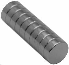 10 Neodymium Magnets 12mm x 4mm Disc N48 Rare Earth
