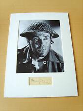 Henry Fonda Genuine Autograph - UACC / AFTAL.