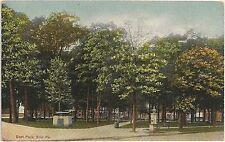 East Park in Erie PA Postcard 1910