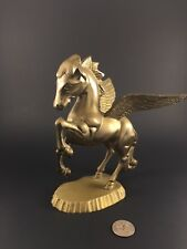 Vintage Collectible Brass Figurine Winged Horse Pegasus