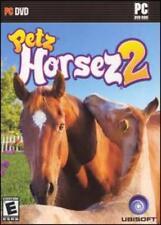 Petz Horsez 2 w/ Manual PC DVD raise train horses on ranch dressage jumping game