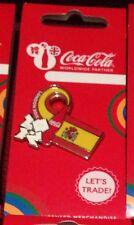 Juegos Olímpicos de Londres 2012 Insignia Pin Coca Cola España Bandera