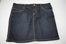 Orsay Jeans Mini Rock dunkelblau Denim Gr. 38 Damen