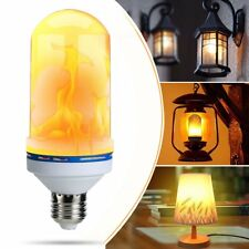 E27 7W 400lumen LED Burning Light Flicker Flame Lamp Bulb Fire Effect Decorative