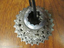 SHIMANO DURA ACE CS-7800 10 SPEED 11-23  CASSETTE W/ LOCK RING