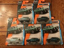 2017 Matchbox '90 VOLKSWAGEN GOLF COUNTRY VW Lot of 5 FIVE Teal Green Variation
