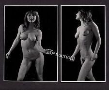 Famous German Photographer PETER LORENZ Nude / Akt * Set of 2 Vintage 70s Photos