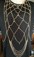 Body chains Bc917-6 gold women jewelry layers tassels Bohemian Free Shipping