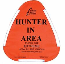 NEW Hunter Safety System Hunter Warning Sign FREE SHIPPING