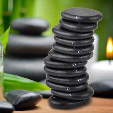 12pcs Oval Hot Basalt Rock Massage Toe Spa Stone 3*4cm Asst Working Deep Tissue