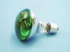 GRÜN REFLEKTOR-LAMPE 220V/60W/E27/R80 GLÜH-BIRNE 60 WATT  MUSIKATO 009210410U/40