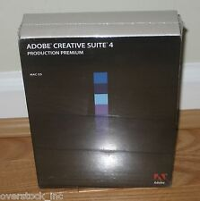 Adobe Creative Suite Production Premium 4.0 MAC has Photoshop After effects CS4