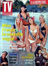 Mag 2006: ELECTION MISS FRANCE_CORINNE TOUZET_PETER FALK_GERARD DARMON