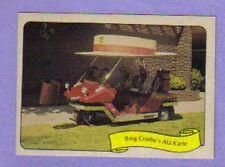 George Barris 1970's Kustom Kar Fleer Stickers Bing Crosby's Ala Karte
