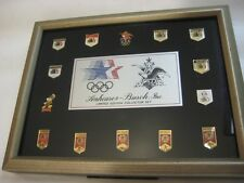 1988 La Olympic Anheuser-Busch L/E Collector Set Frame