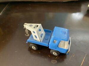 Buddy L Blue Tow Truck with White Hook