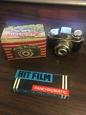 Vintage Miniature Camera with 6 rolls of HIT Panchromatic film