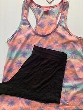 Jenni Intimates Women's Summer Rayon 2-Pieces Short and Tank Pajama Set, M