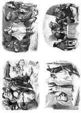 Gustave Dore gigantón Pantagruel 150 A4 Foto impresión