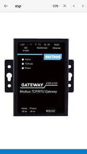 Modbus RTU RS485 to Modbus TCP Gateway Remote Meter Reading Interface