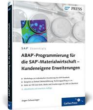 ABAP-Programmierung für die SAP-Materialwirtschaft - Kundeneigene Erweiterungen…