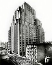 WESTERN UNION TELEGRAPH BUILDING, NEW YORK CITY IN 1931 - 8X10 PHOTO (CC-159)