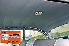 1956 1957 Chevy 2 Door Hardtop Headliner Black New Belair Vinyl
