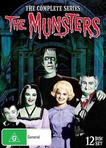 The Munsters (DVD, 2016, 12-Disc Set) Brand New! Region 4