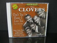Don't You Know I Love You & Other Hits by The Clovers (CD, Jun-1997,...