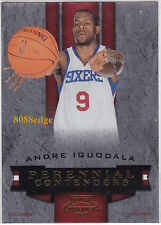 2009-10 PLAYOFF PERENNIAL CONTENDERS GOLD #20: ANDRE IGUODALA #32/100 SIXERS