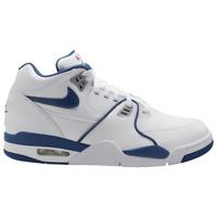 Brand New Men's Nike Air Flight '89 Athletic Basketball Sneakers | White & Blue