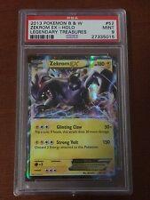 Pokemon Legendary Treasures Zekrom EX 52/113 PSA 9 MINT