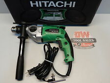 Hitachi 8.3 Amp Variable Speed Hammer Drill (Factory Reconditioned) 2 Mode