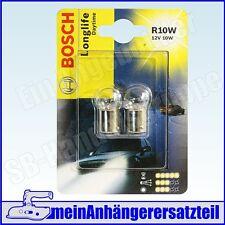 Bosch Duoblister Longlife Daytime Kugelbirne 12V 10W R10W Ba15s - 1987301059