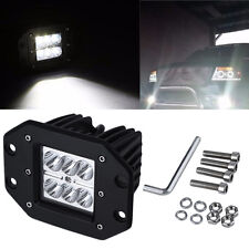 4 inch 18W Square Flood LED Work Light Bar For Jeep Off Road TRUCK YS