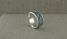 Sterling Silver Celtic Weave Ring Made in Ireland by Shanore size 7