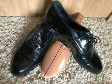 Bostonian Florentine Men's Vero Cuoio Black Dress Shoes, Italy, Size 8M