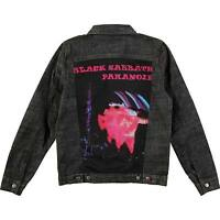 BLACK SABBATH PARANOID MOTION TRAILS CREATURE DENIM JACKET NEW AUTHENTIC 2XL