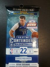 2020-21 Panini Contenders Basketball Cello Value Fat Pack 22 cards