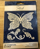 Tattered Lace Butterflies & Cogs - Steampunk Metal Cutting Die - 566927