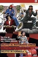 Dvd TOMAS MILIAN Delitto al Ristorante Sull'Autostrada in Formula 1 (3 Dvd) .NEW