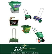 GARDEN SPREADERS - ROTARY, DROP, HAND, HANDY, EASY FROM EVERGREEN AND WESTLAND