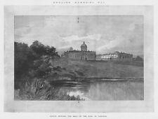 CASTLE HOWARD Seat of the Earl of Carlisle - Antique Print 1897