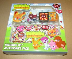 Moshi Monsters Accessory Bundle (Carrying Case Stylus) Nintendo 3DS/DSi/DS Lite