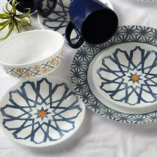 Corelle Amalfi Azul Dinner Plate Luncheon Plate Bread & Butter Plate Cereal Bowl
