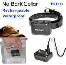 Dog No Bark COntrol Shock Collar Rechargebale Waterproof PET850 7 Sensitivity