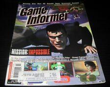 Vintage Game Informer Magazine Nintendo PS Nes Sega video games 1998 issue 63