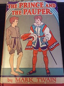 The Prince And The Pauper By Mark Twain 1909 Very Rare Wartime Edition