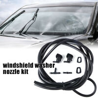 5Pcs Car Windshield Washer Nozzles Kit Wiper Sprayer For Focus Dodge Rams MA2309